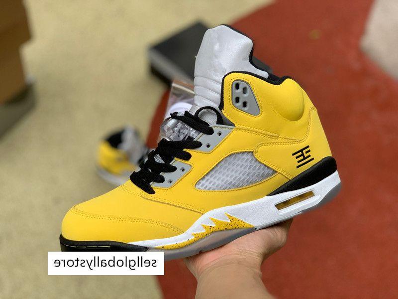 Jumpman 5 Kanatlar 75 Paris New Kamuflaj Premium Heiress Metalik Saha Erkek Retro Basketbol En Popüler 5s Sneakers Ayakkabı Boyut 40-46 TPCK