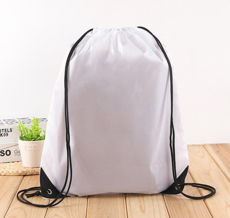 Borsa all'aperto impermeabile in nylon coulisse sacchetto zaino a zaino per le donne uomini decorazioni da viaggio pacchetto adolescenti bbypxb xmhyard