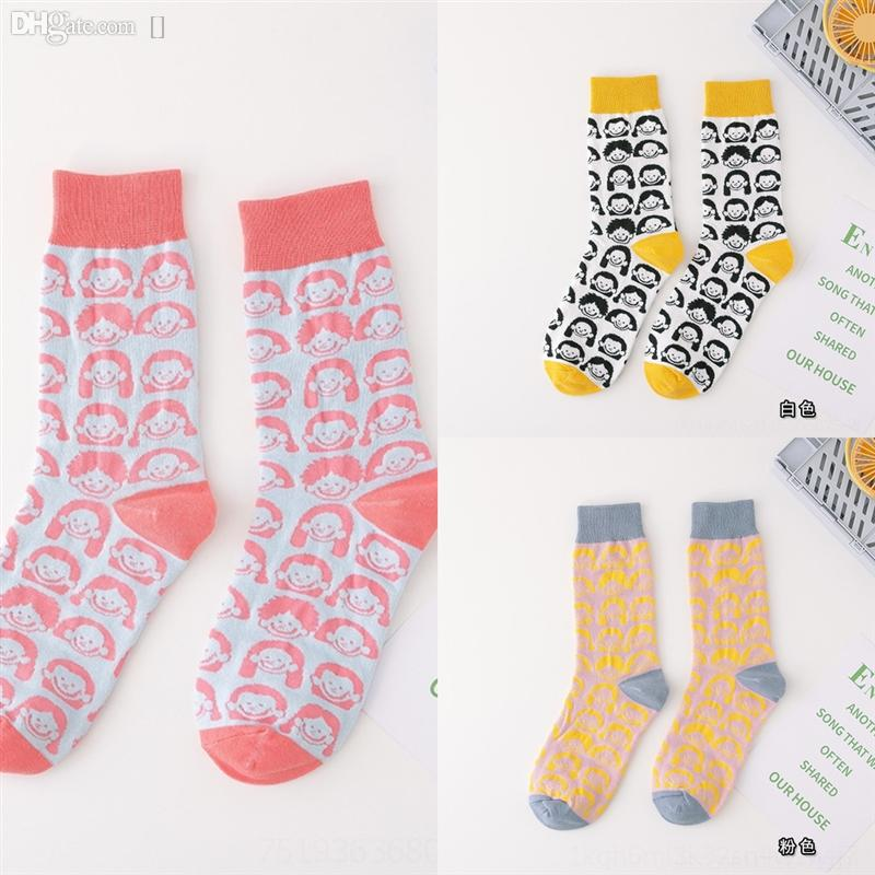 CVA NK sockgle cartoon sin Japanese towel Towel cand Autumn and Wintery Candydouble women's macarone bottomed long tube and candy sports