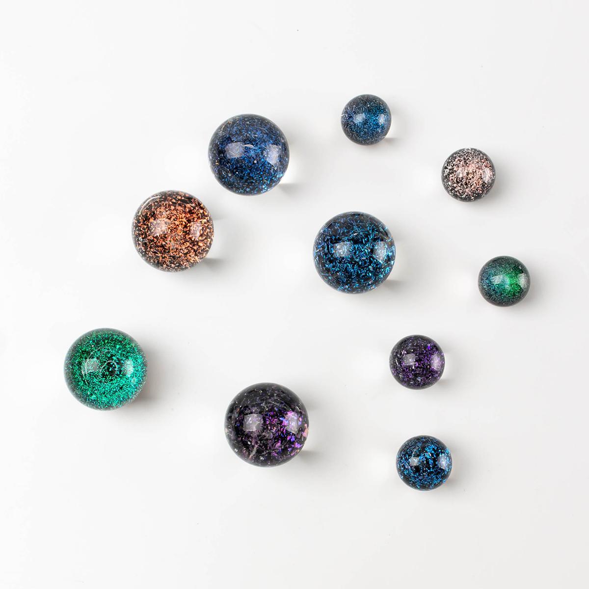 Desenhos de narguilhs TERP Pérolas de vidro bola colorida estrela céu od 14mm 22mm carb tampa para o equipamento de quartzo banger