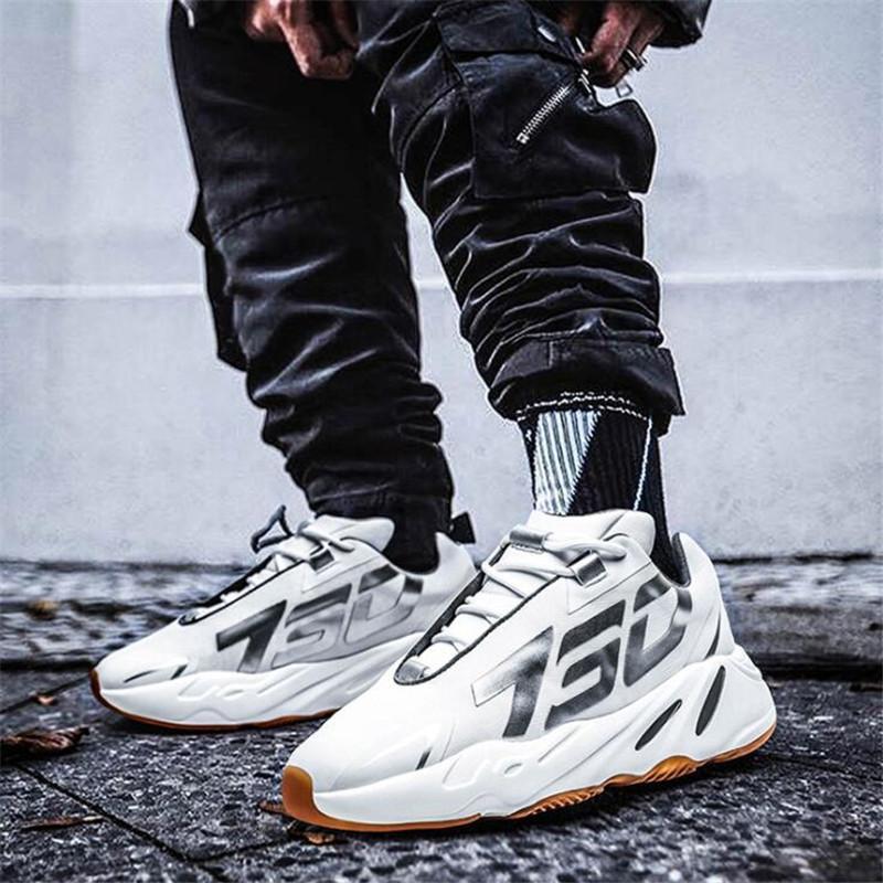 Scarpe Uomo Casual leggera corsa Lace Up esterna inferiore morbido a piedi scarpe tendenza di moda in gomma resistente Sneakers