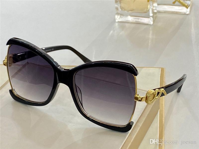 Nuovi occhiali da sole di moda e popolari 1128 telaio quadrato Top Quality Semplice ed elegante Stile UV400 Occhiali protettivi UV400 Top Quality