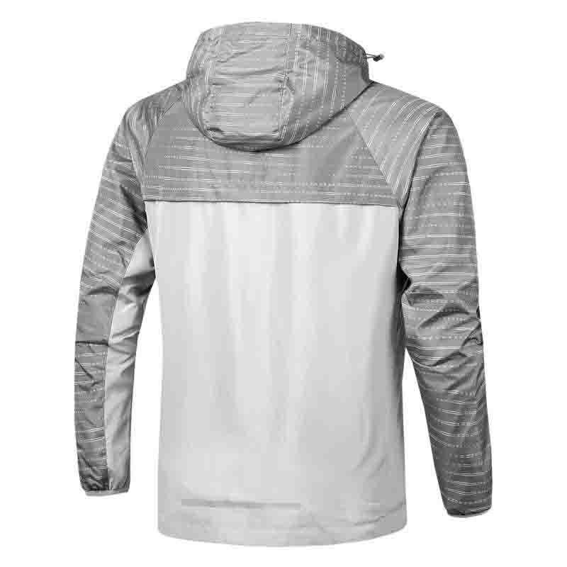 Мужская куртка 2021 Новые Мужские Панельные Куртки Мода Мужские Повседневные Спортивные Куртки Высокое Качество Капюшона Застежка-молния Ветер Размер L-4XL