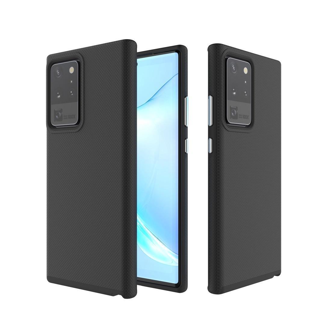 Для Samsung Galaxy Note 20 Ультра Противоскользящая броня ТПУ PC Защитный чехол