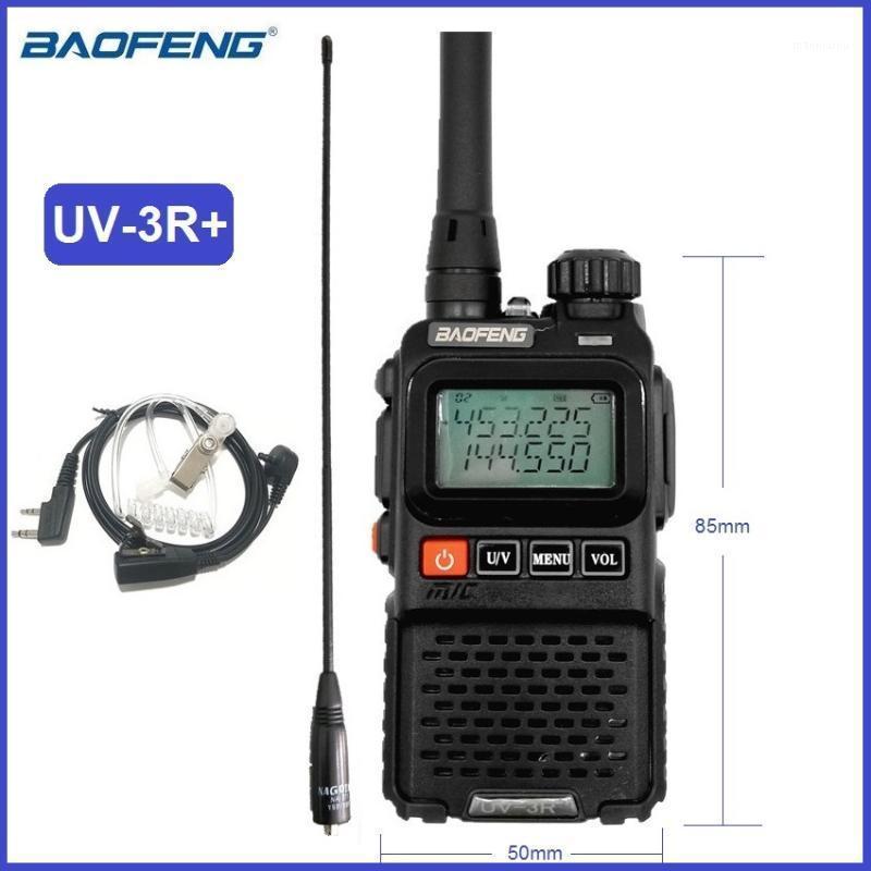 BAOFENG UV-3R PLUS Portable Walkie Talkie Mini CB Radio Amatoriale VHF UHF Prosciutto Radio Trasmettitore UV-3R + Transmetrice UV3R UV 3R1