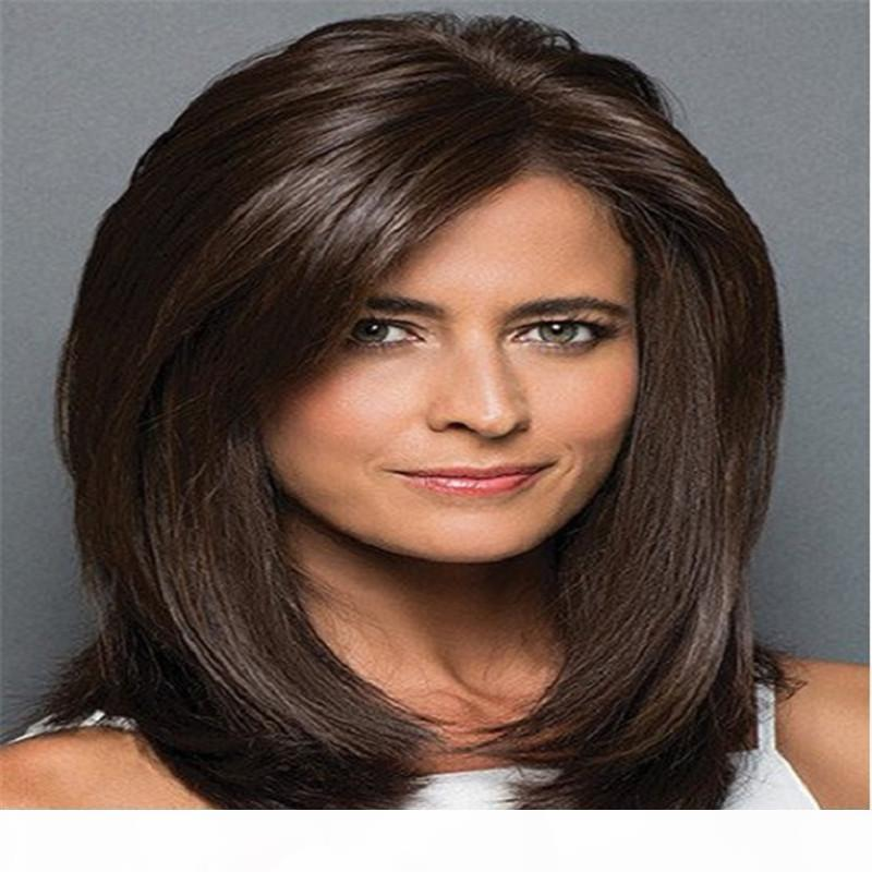 kabell Natural color straight hair Full Lace Human Hair Wigs For 150% Density Glueless Full Lace Wig With Baby Hair Honey Queen White Women