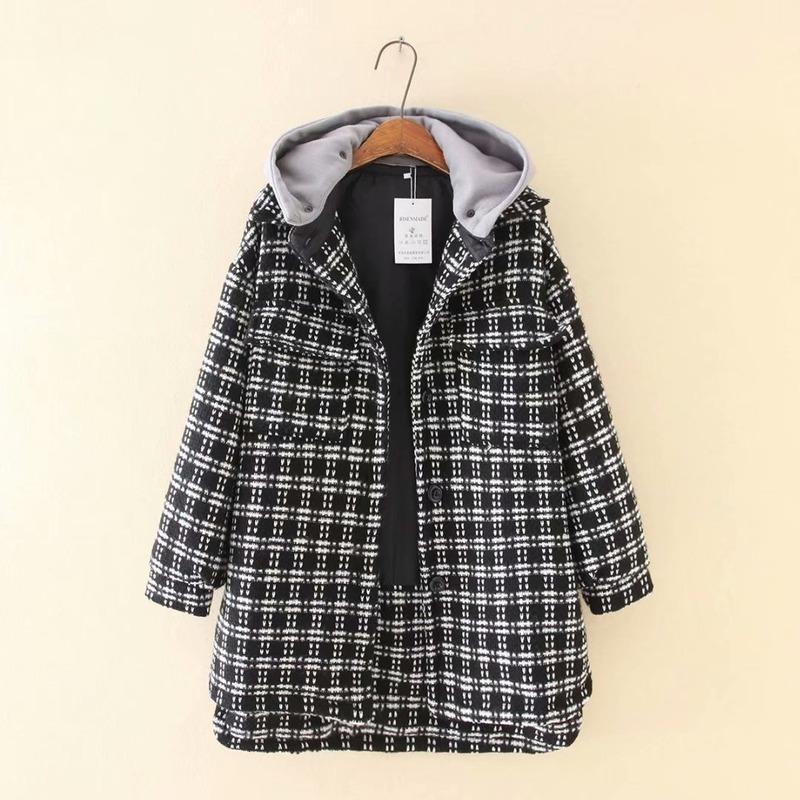 Плюс размер 3XL-5XL женские зимние пальто с капюшоном вскользь толстые мягкие длинные верхние одежды зимние куртки