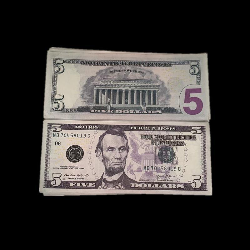 Props Game Game Copy Giocattoli Valuta Mostra i soldi dei bambini Stati Uniti Party Regali rapidi Real Design Magic S5 Consegna ARUKC Reuma