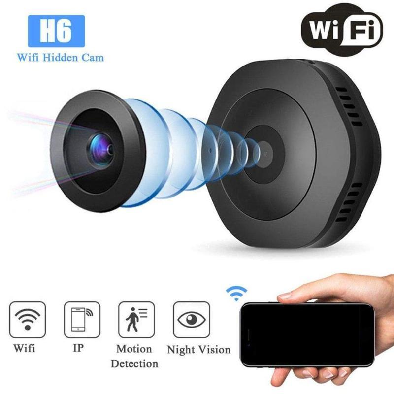 Versione H6 Wifi micro macchina fotografica Notte Mini Action Camera del sensore di movimento della videocamera portatile Voice Video Recorder DV DVR Piccolo