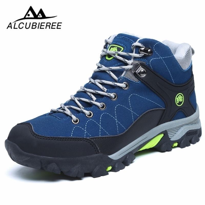 Mode Männer Schuhe Wasserdichte Pelz Casual Stiefel Für Männer Tennis Warme Männer Winter Sneakers Outdoor Knöchel Atmungsaktiv Zapatillas 201126