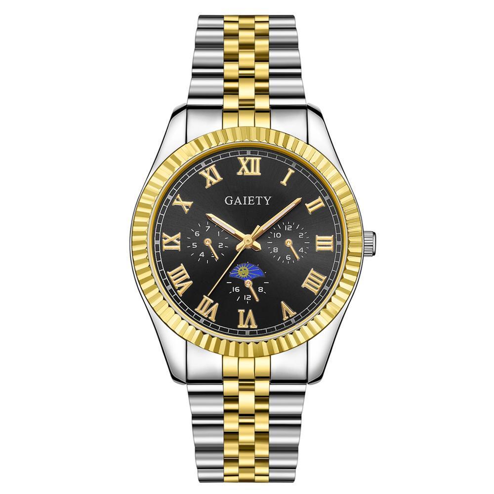 2020 Top Marque Luxury Mens Montre 30m imperméable Date Horloge Montres Sports masculins Hommes Montre Montre Quartz Relogio Masculino