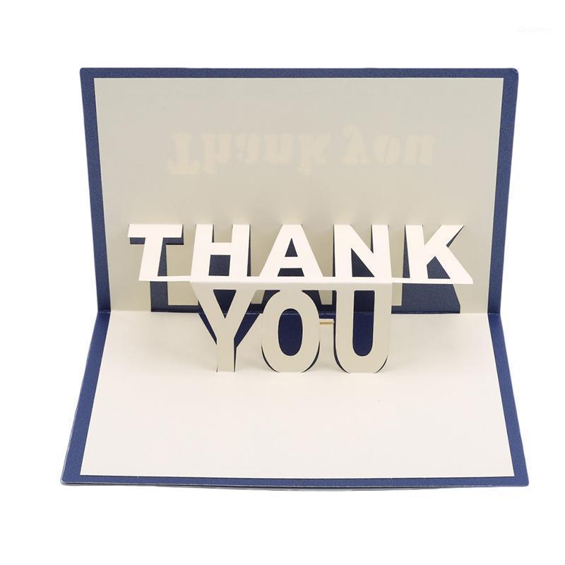 Tarjetas de cumpleaños en 3D Up Invitaciones de negocios 'Gracias' regalos Tarjeta de felicitación Postal para Monther Dad1