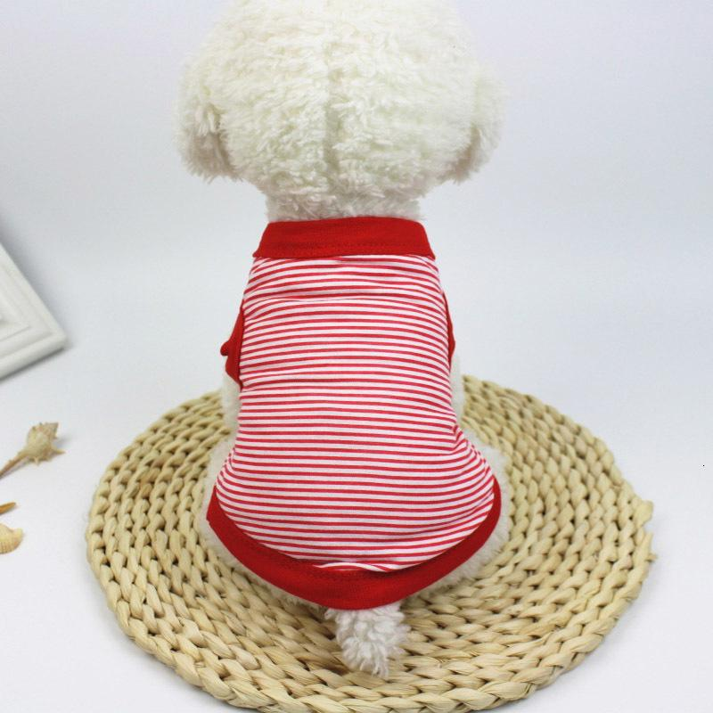 Dog Cat Vest Cotton Clothe Small Puppy Soft Coat Jacket Summer Apparel Clothing t shirt Jumpsuit Outfit Pet Supply DHL Free XS XXL