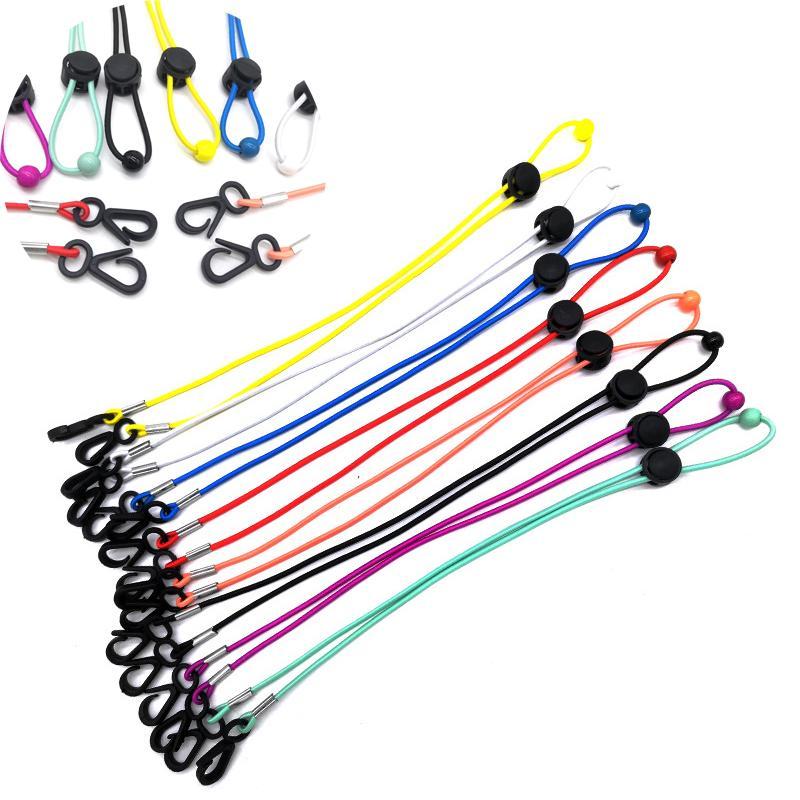Conveniente Mask Hanger Cuello Ajustable Para Niños Hombres Lanyard Bandanas Cara Longitud Longitud Mujer Resto Safety Cómodo Cómodo Alrededor Kimter-L75 Kudl