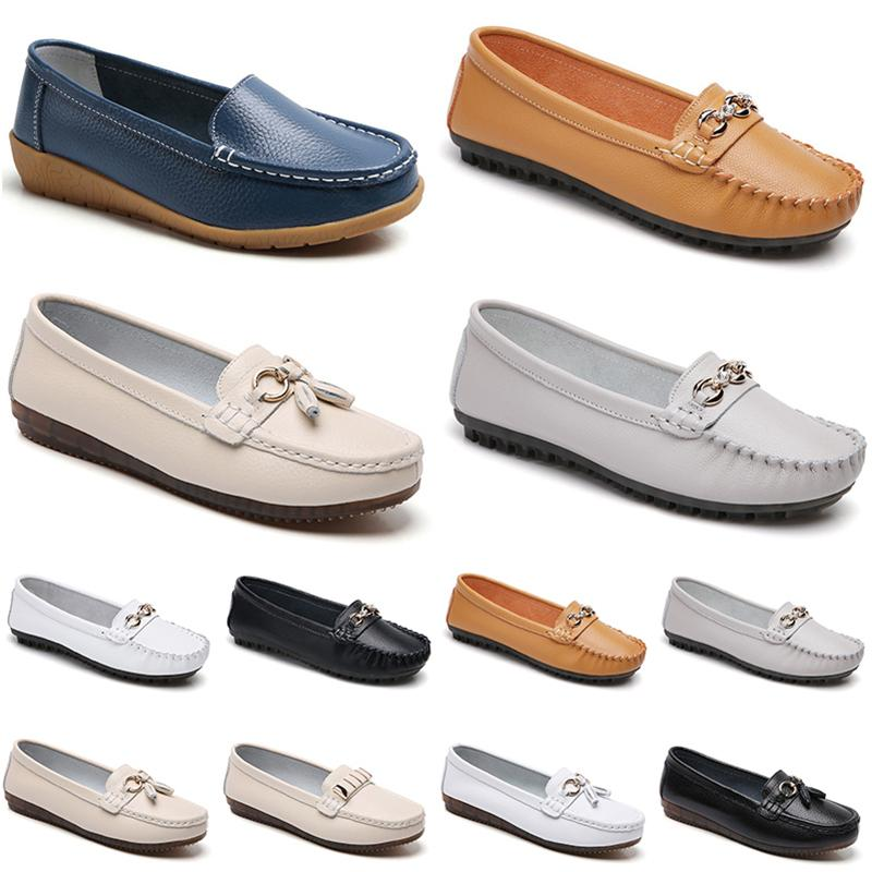 Moda Non-Brand Zapatos casuales para mujeres Triple Triple Triple Blanco Diseñador blanco para mujer Jogging Zapatillas para caminar 36-40
