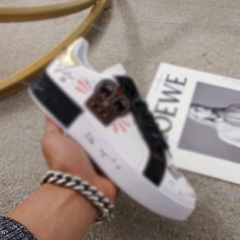 Nike Air Jordan Color Casual Zapatos Casual Plataformas Impresión Patrón Pareja Zapatos Moda Personalidad Salvaje Zapatos deportivos al aire libre Zapatos Skateboard Shoe