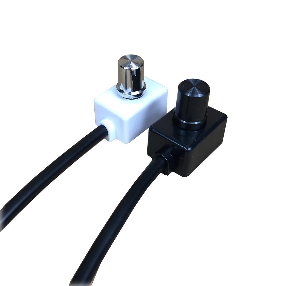 Нет Запрос на питание DC 0 / 1-10V Мини Ручка Диммер Контроллер Поворотные выключатели PWM Singal для управления Одиночным диммируемым светодиодным светом