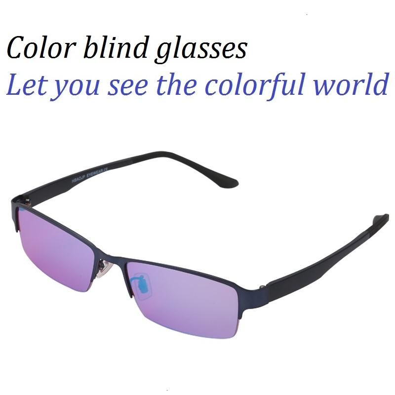 Qualitäts-Farbenblindheit Rot Grün Color Blind Korrekturbrillen Frauen Männer Colorblind Führerschein Brillen