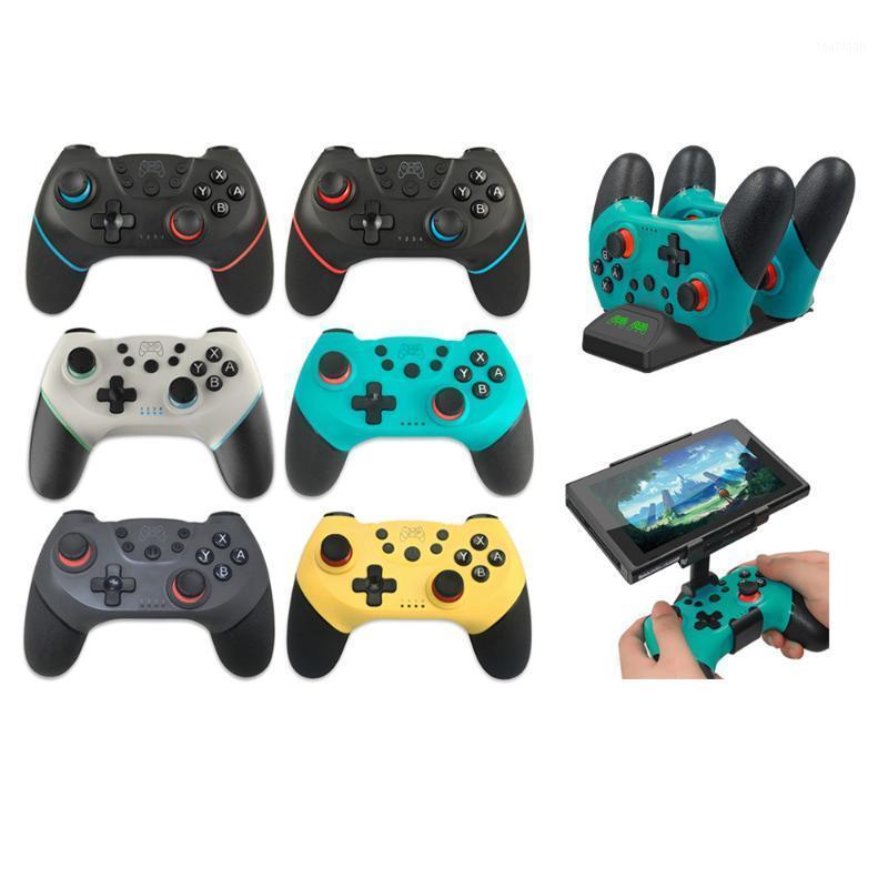 Controladores de jogos Joysticks Bluetooth Controlador Sem Fio para N-Switch NS-Switch NS Comutador Console Gamepad Joystick1