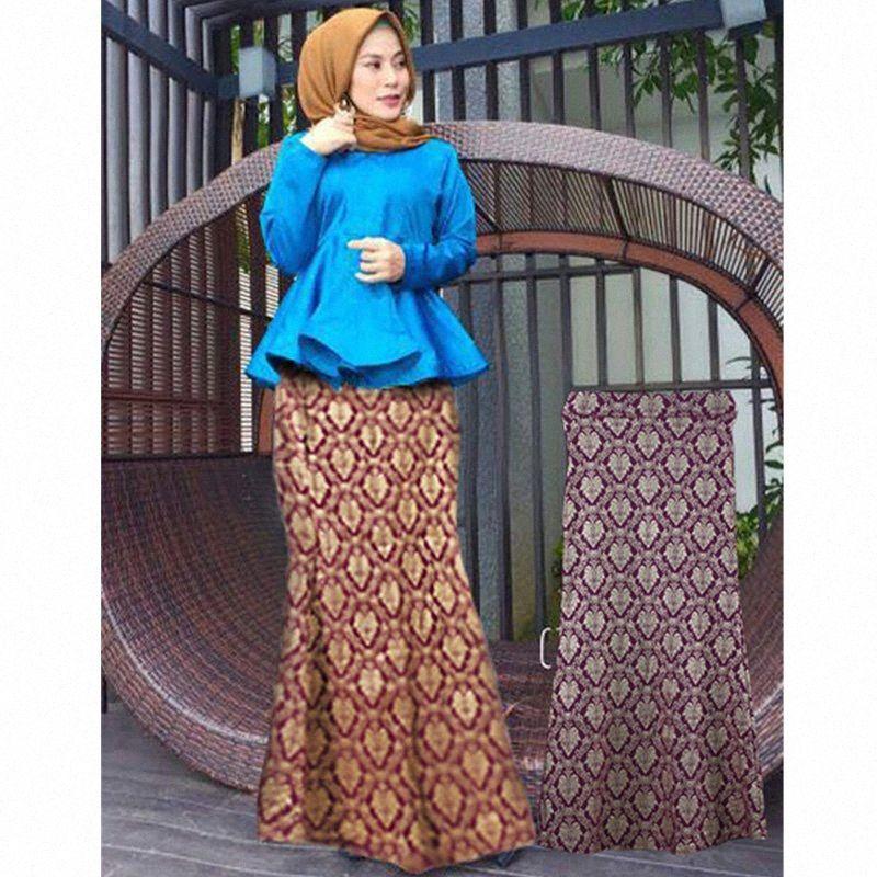 Fashion long islamic skirts Bronzing picture long skirt muslim dubai dresses for women abaya for muslim girls formal kaftan pB0Q#