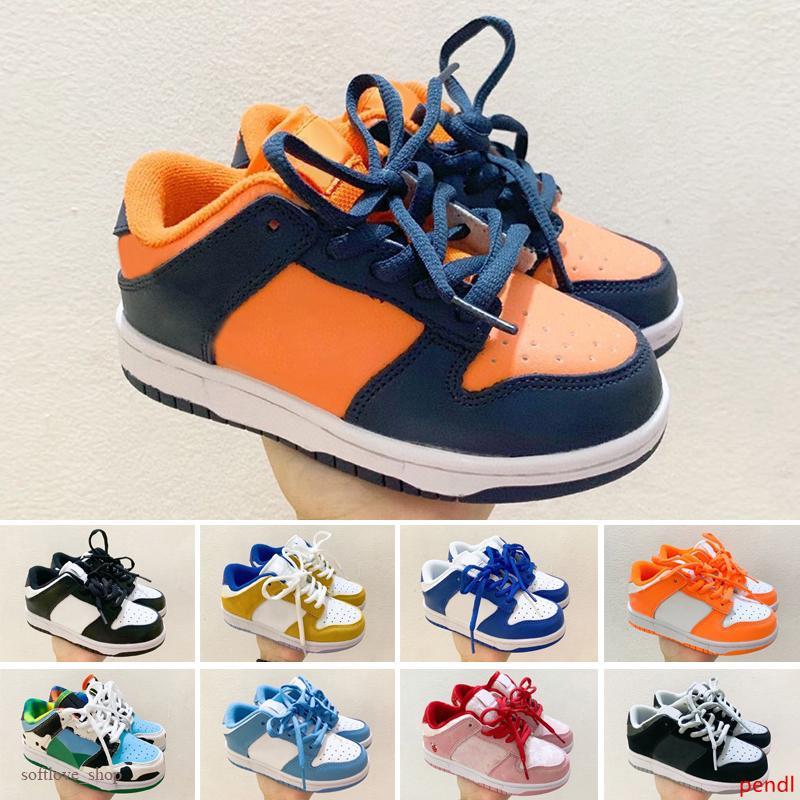 2020 rateful Muerto x SB baja Naranja osos mejores niños El andar en zapatos casuales zapatos deportivos Dunk SB Hombres Mujeres 24-35