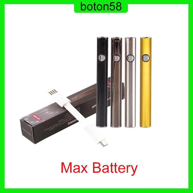 Originale Amigo Max Preriscaldare batteria 380mAh tensione variabile VV Vape Mod Per 510 Thick olio Liberty V9 vaporizzatore cartucce serbatoio 0.270.003-1