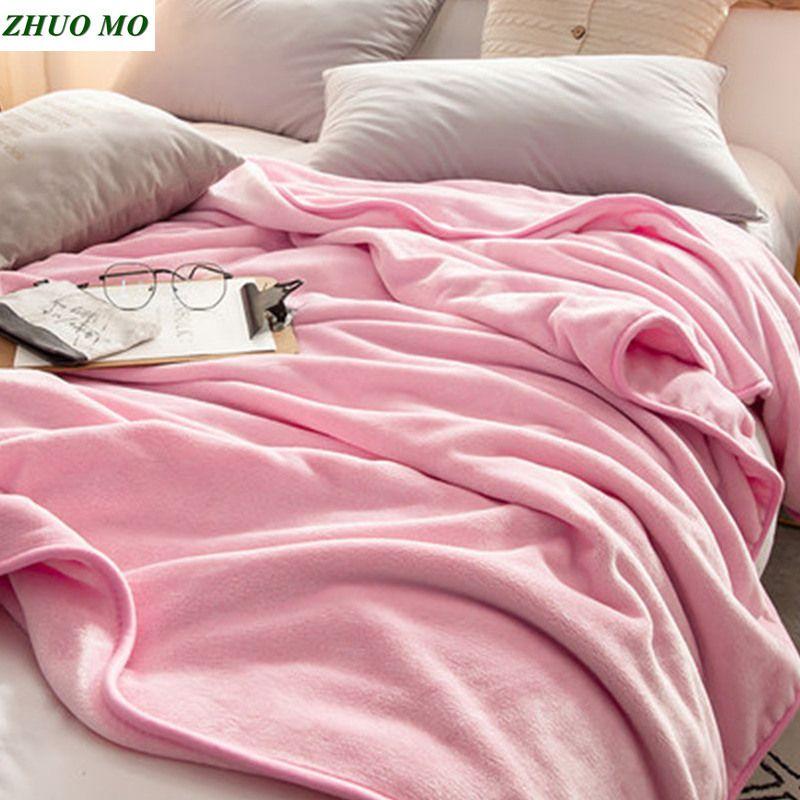 مو 120 * 200CM تشو المرجان الصوف الدافئة غطاء لحاف عيد الميلاد المتحركة الشتاء الوزن غطاء للمنزل رمي على أريكة ملاءات السرير
