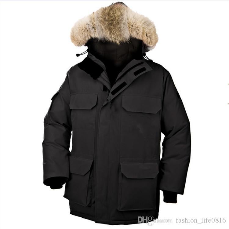 Мужские дизайнерские куртки толстые теплые с капюшоном в рукаве буквы вышивка повседневная мода зимняя куртка мужская стилист пальто зимняя куртка