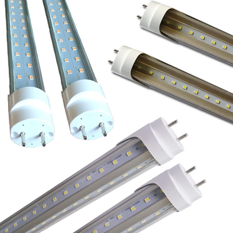 Rotate Cap Swivel Ends 22W 28W 36w 72w 1.2m LED tube light fluorescent lamp T8 G13 85-265V 1200MM 4 feet ft tubes