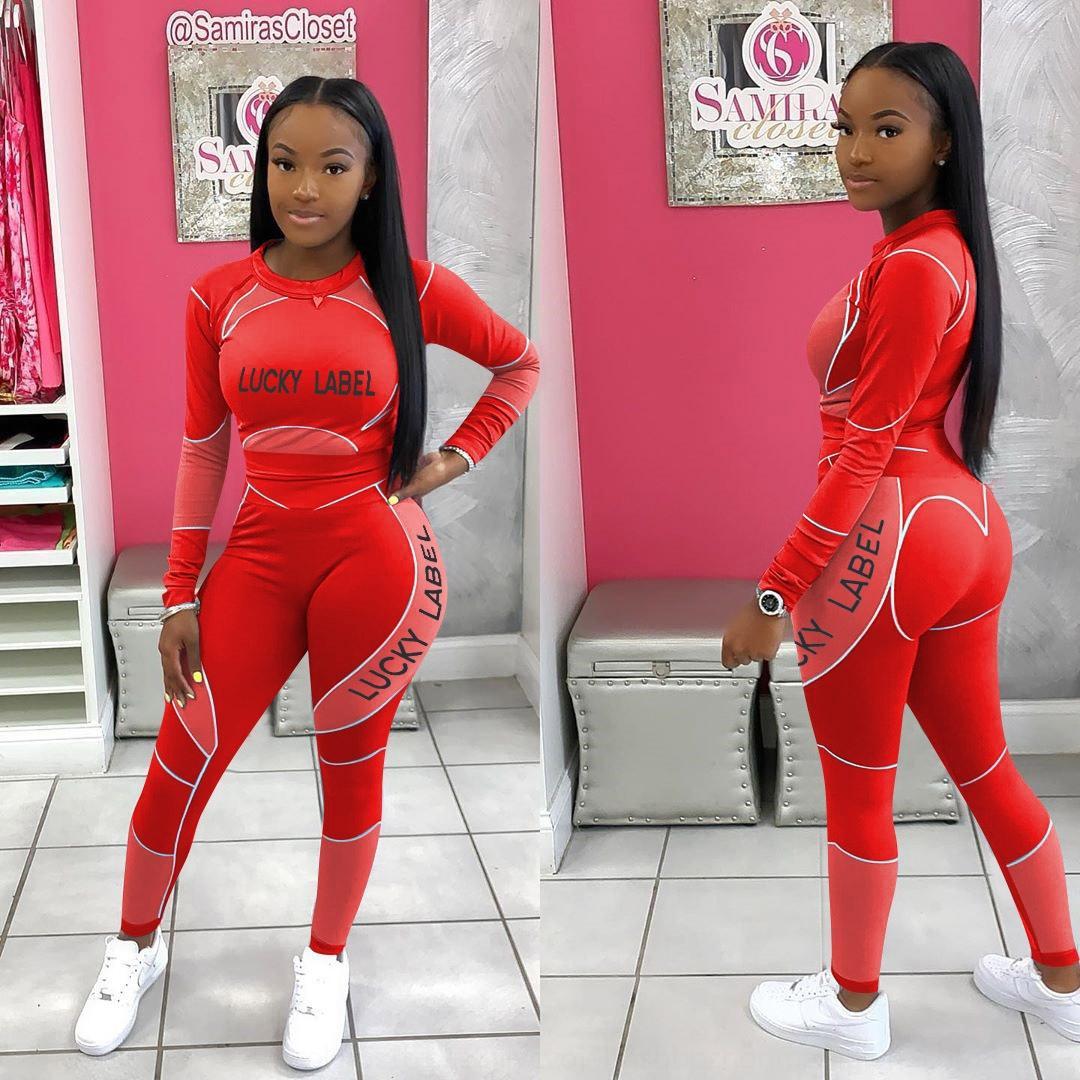 EIQB NEPLOE 2018 Nova Blusa Calças de perna larga Conjunto com ternos Moda Slow Sleeve Blusas Flare Calças 2 pcs Mulheres Sashes 68191 D18110706