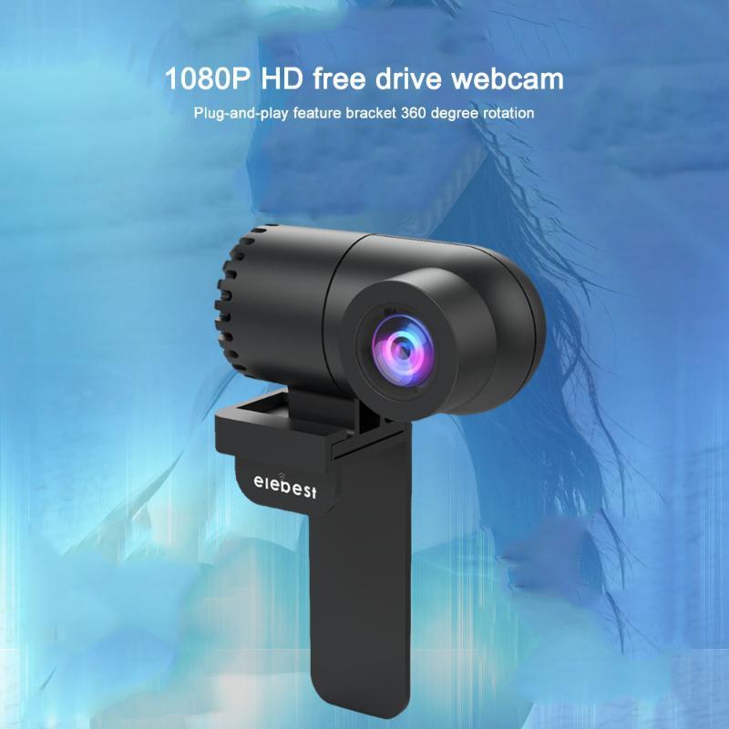 webcam usb câmera web 1080p HD com microfone Mini WebCamera para cam visão web PC Computer noite para chamar transmissão ao vivo de vídeo