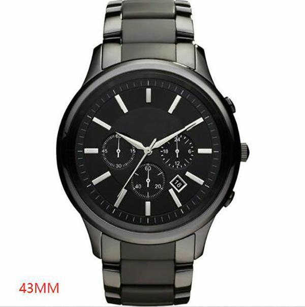 AR1452 Qualitätsuhr Neue Herrenuhr Mode Armbanduhr Chronograph Bester Quarz Keramik Männer AR1451 AR 2020 ACJJF