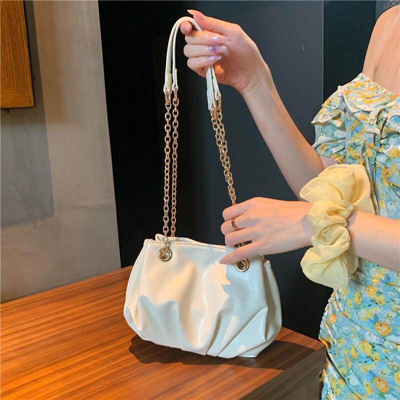 Piccola satchel femmina testurizzato borse a tramers designer New 2021 Borsa IOSGF Cloud PendRer Style Designer-Lussurys Ins Catena Mnthx Fdanf