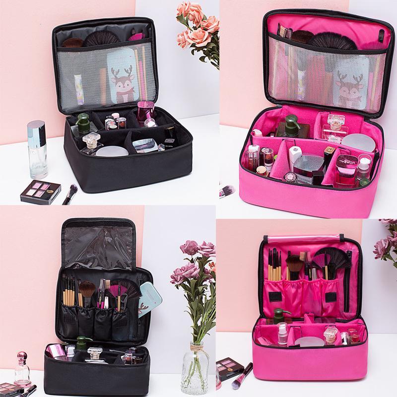 Borsa cosmetica per il trucco Borsa da toeletta Lavaggio Beauty Case Travel Organizer Pouch Holder Make Up Organizer
