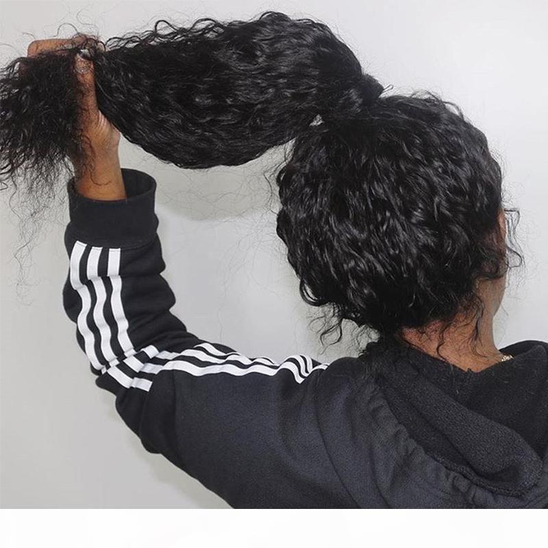 360 레이스 정면 가발 아기 머리 깊은 웨이브 곱슬 밥 투명 13x6 레이스 프런트가 인간의 머리 가발 (370) 가짜 두피