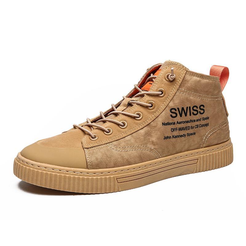 Clásico hombres mujeres zapatos de lona zapatos planos negro blanco trigo otoño caminar diseñador hombre para mujer zapatos casuales