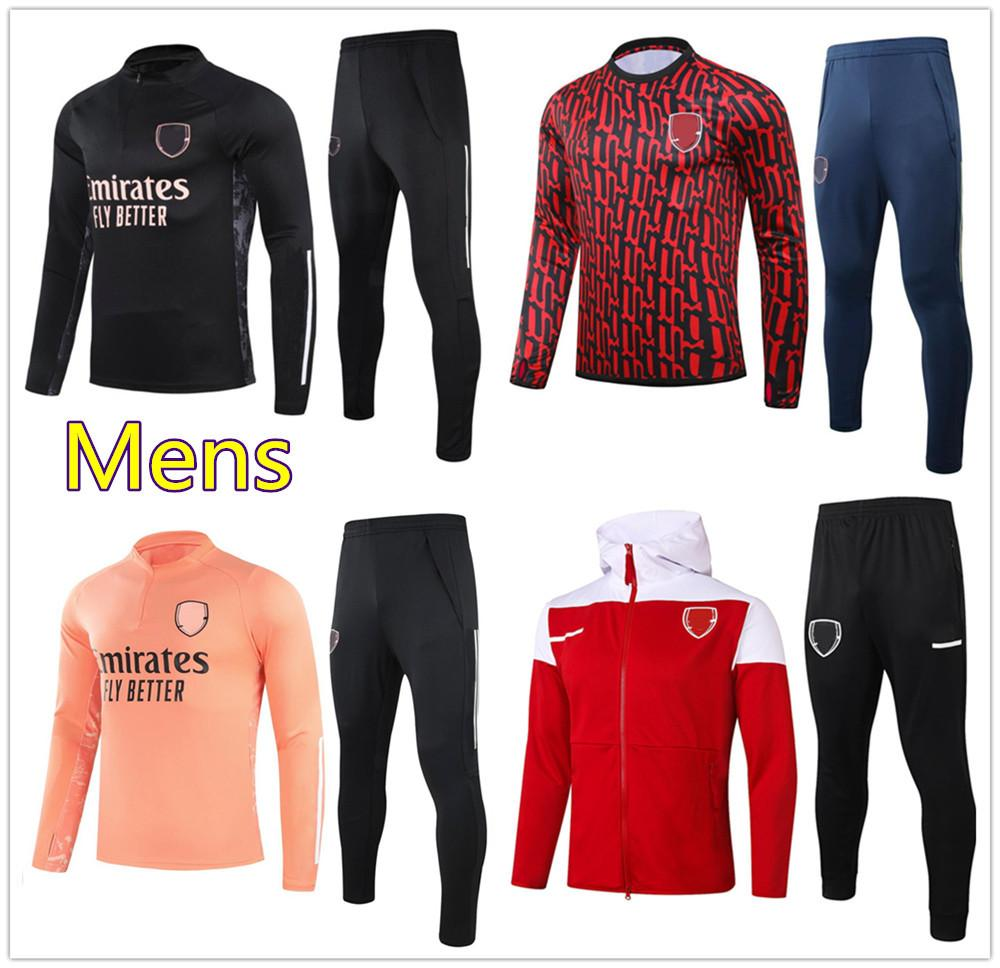Mens Arsen soccer soccer tracksuit 2020 2021 football training tracksuit jacket chándal de fútbol survêtement