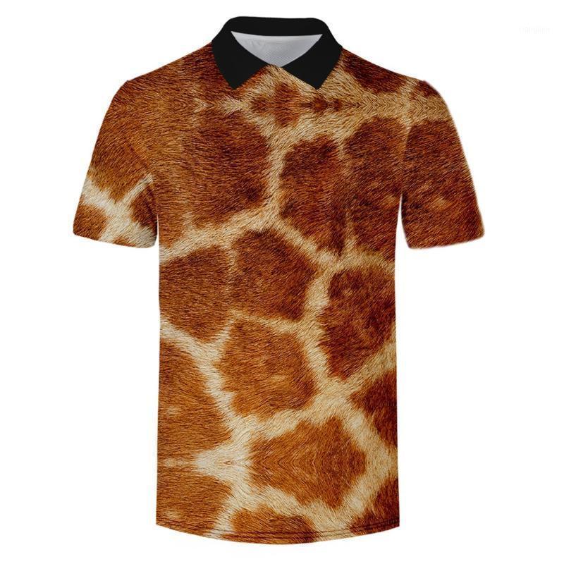 Mode Männer Hemd Sommer Heißer Verkauf Tier Textur Serie Kurzarm Hemd Streetwear Kleidung Para Hombre 2020 Plus Size1
