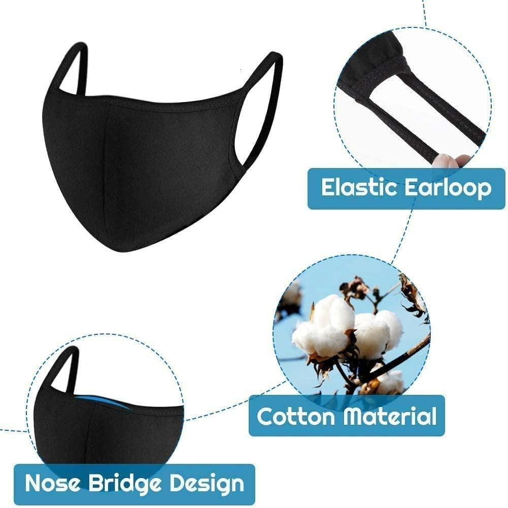 Rémarchandises masque bouche unisexe homme vélo femme Porter mode noir de haute qualité