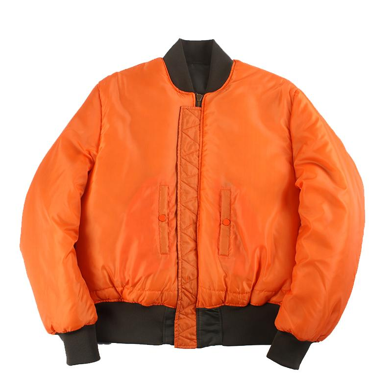 2021 Novo Inverno Vintage Oversize Ma-1 Streetwear Hip Hop Casacos Militares Roupas Dupla Lado Bombardeiro Força Aérea Força Piloto Jaqueta J79a