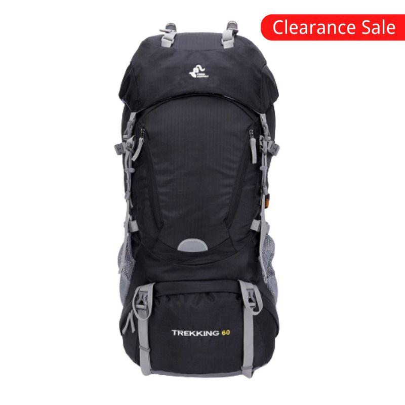 Free Knight 60L Ao ar livre caminhadas mochilas mochilas esporte curso escalada sacos à prova d 'água trekking camping mochila