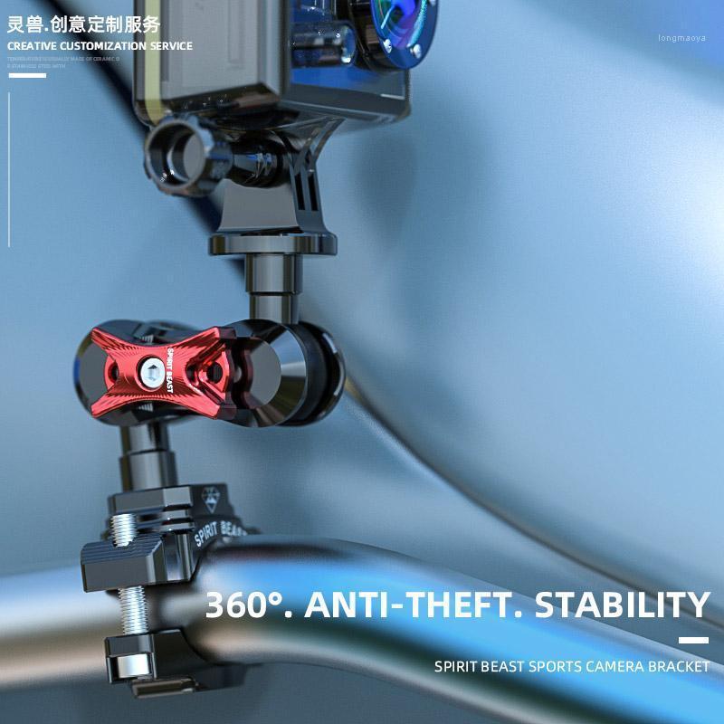 Geeignet für Sport-Kamera-Halterung Motorrad Reitausrüstung YI DJI Osmo Action Insta360 Sportkamera Lenker Holder1