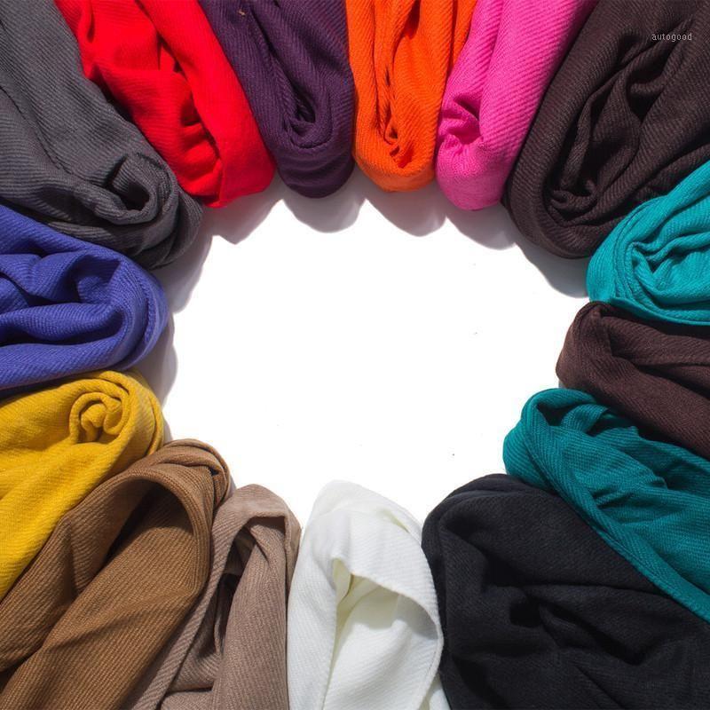 2020 Venda na primavera e outono inverno casais românticos college ms sue dupla face lã de imitação, cor pura cachecol xaill1
