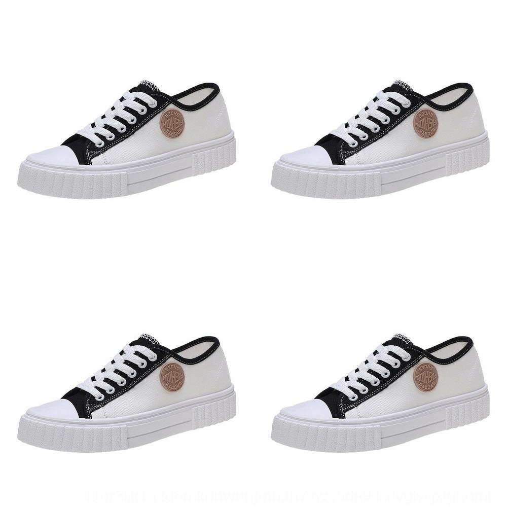 gomma morbida leggero femminile 0s2dE 2020 autunno nuova tela tela piatta soled scarpe basse scarpe casual da tavolo studentsKorean