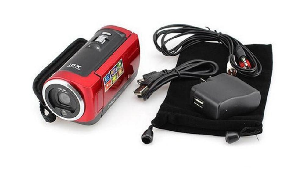 2020 Free shipping 16MP Waterproof Digital Camera 16X Digital Zoom Shockproof 2.7 SD Camera D40