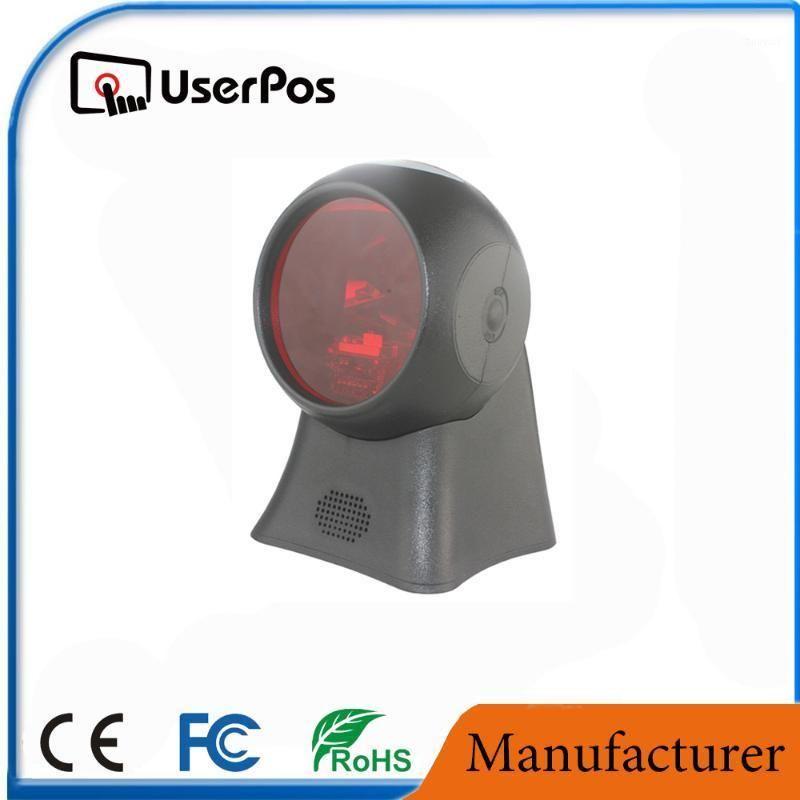 Omni Direccional Ticketing QR Code Scanner USB Barcode Reader Desktop1D Scanning1