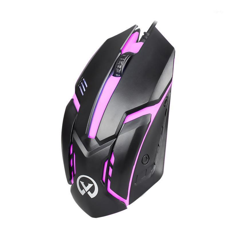 G813 Small Magic Wired Backlit Usb Mouse Competitive Gaming Notebook Office Luminous Mouse1