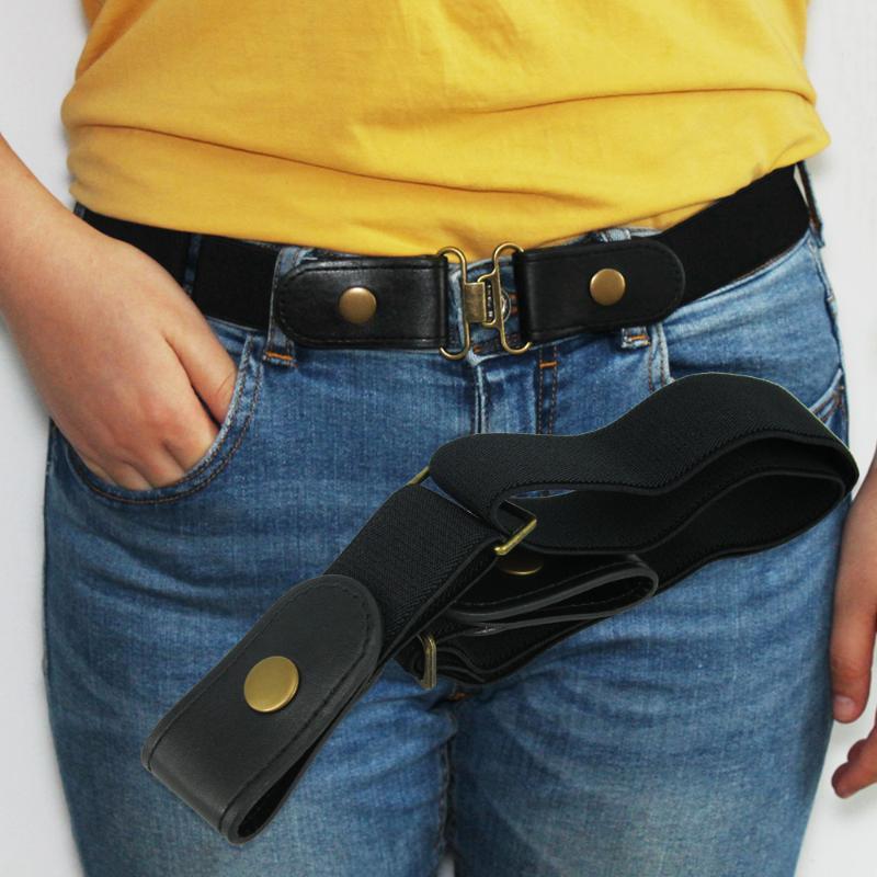 Pantalones hebilla de cinturón-Libre para Jean, vestidos, ninguna hebilla de cinturón elástico del estiramiento Para WomenMen, Sin bombeo, sin complicaciones de la cintura