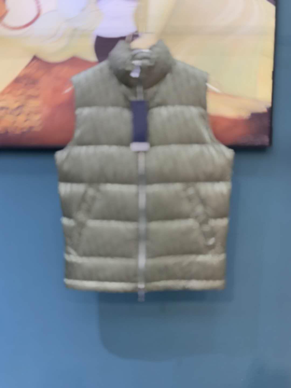 20fw Automne et hiver Down gilet hiver hiver manteaux de mode hiver veste d'extérieur Zdll1003.
