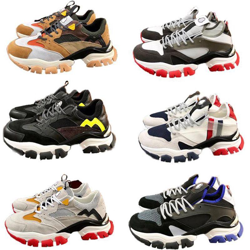 Top Quality Luxuries Men Trainers Designer Plataforma Vintage Sneaker Calfskin Couro Conforto Casual Mens Runnings Sapatos de Luxo Sapatilhas